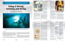 Doing it wrong - Smoking and Diving
